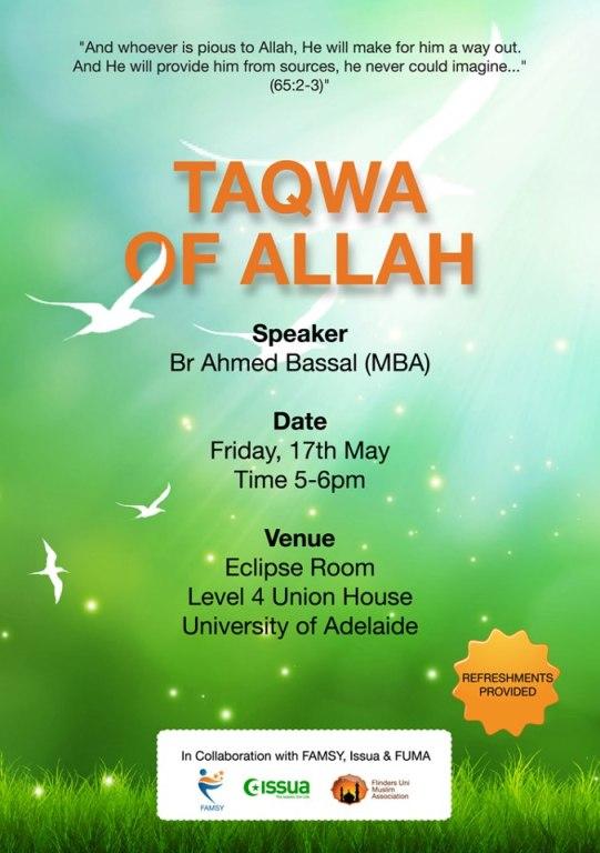 Taqwa of Allah